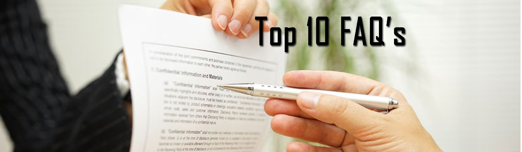 Top 10 Medicare FAQs